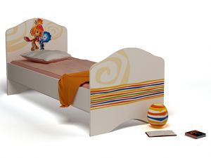 Детская кровать Симка с доп.спальным местом