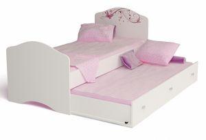 Детская выдвижная кровать Фея
