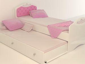 Детская кровать Princess с доп.спальным местом