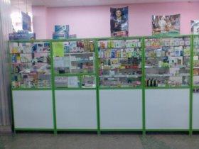 Мебель для аптек: витрина