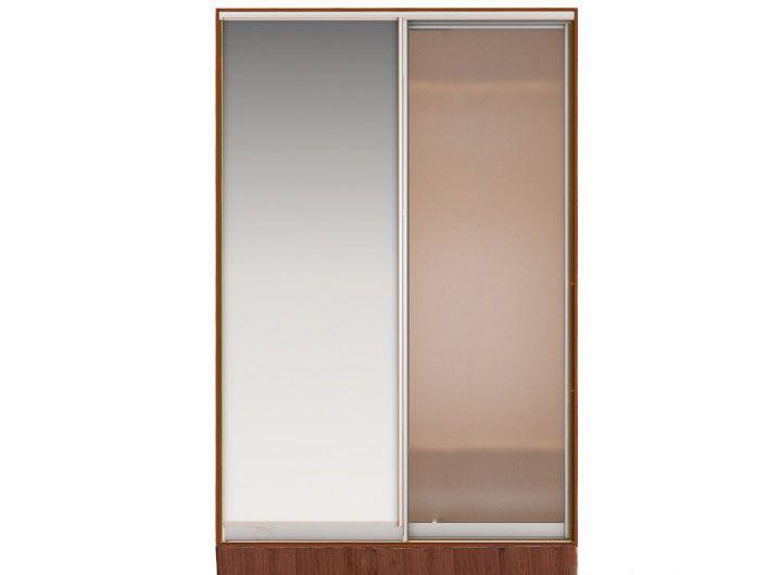 Шкаф-купе джонни вариант 4 фасады: зеркало, стекло матовое (.