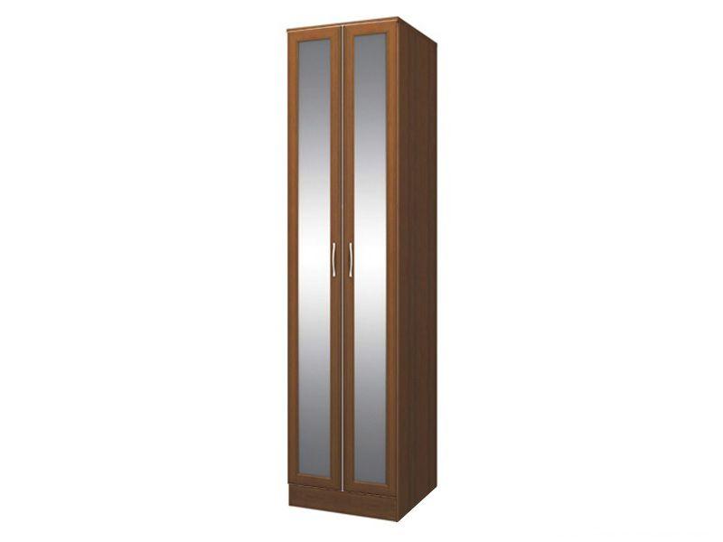 Шкаф 2-х дверный с зеркалом София СТЛ.098.01+СТЛ.098.24 (Noce Pegaso)