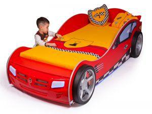 Детская кровать-машина Formula red