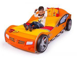 Детская кровать-машина Formula orange