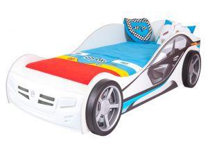 Детская кровать-машина La-man