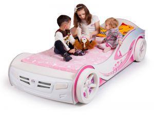 Детская кровать-машина Princess