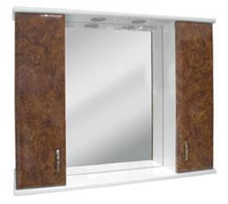 Полка зеркальная Кристалл 100-01.04 (Aquamate)