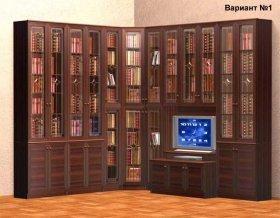 Книжный шкаф расстановка №1 (Навигатор-2)