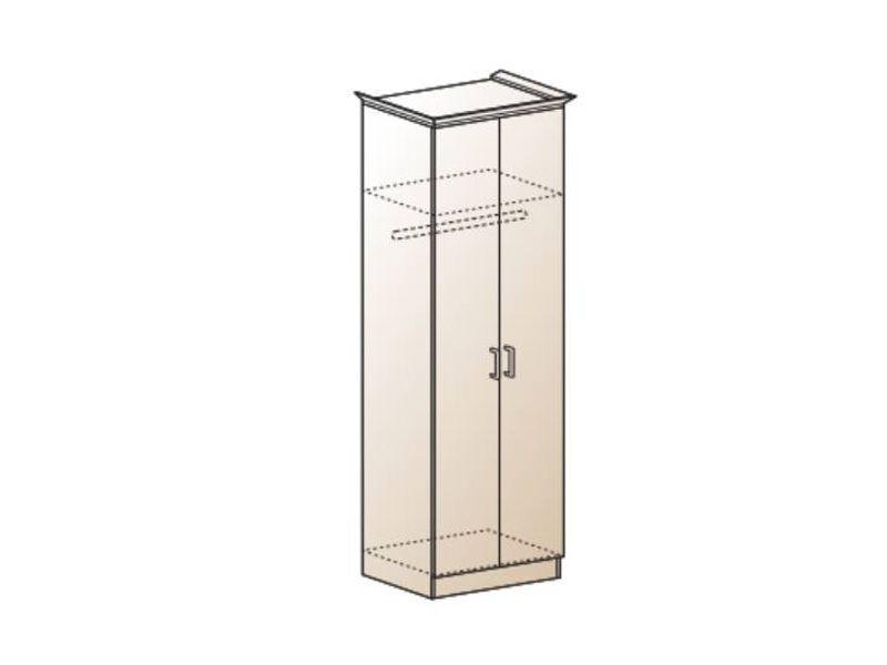 Шкаф платяной Альберт-5, ШК-322 (миланский орех)