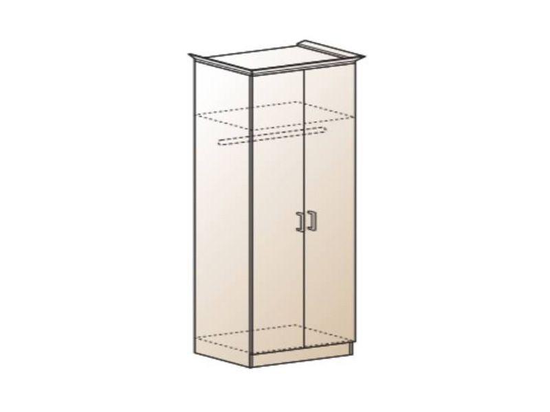 Шкаф платяной Альберт-5, ШК-323 (миланский орех)