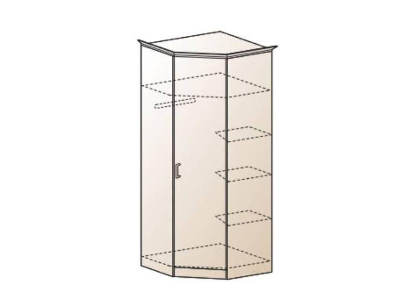 Шкаф угловой Альберт-5, ШК-324 (миланский орех)