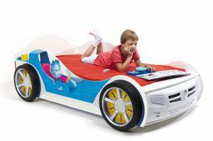 Детская кровать-машина Нолик