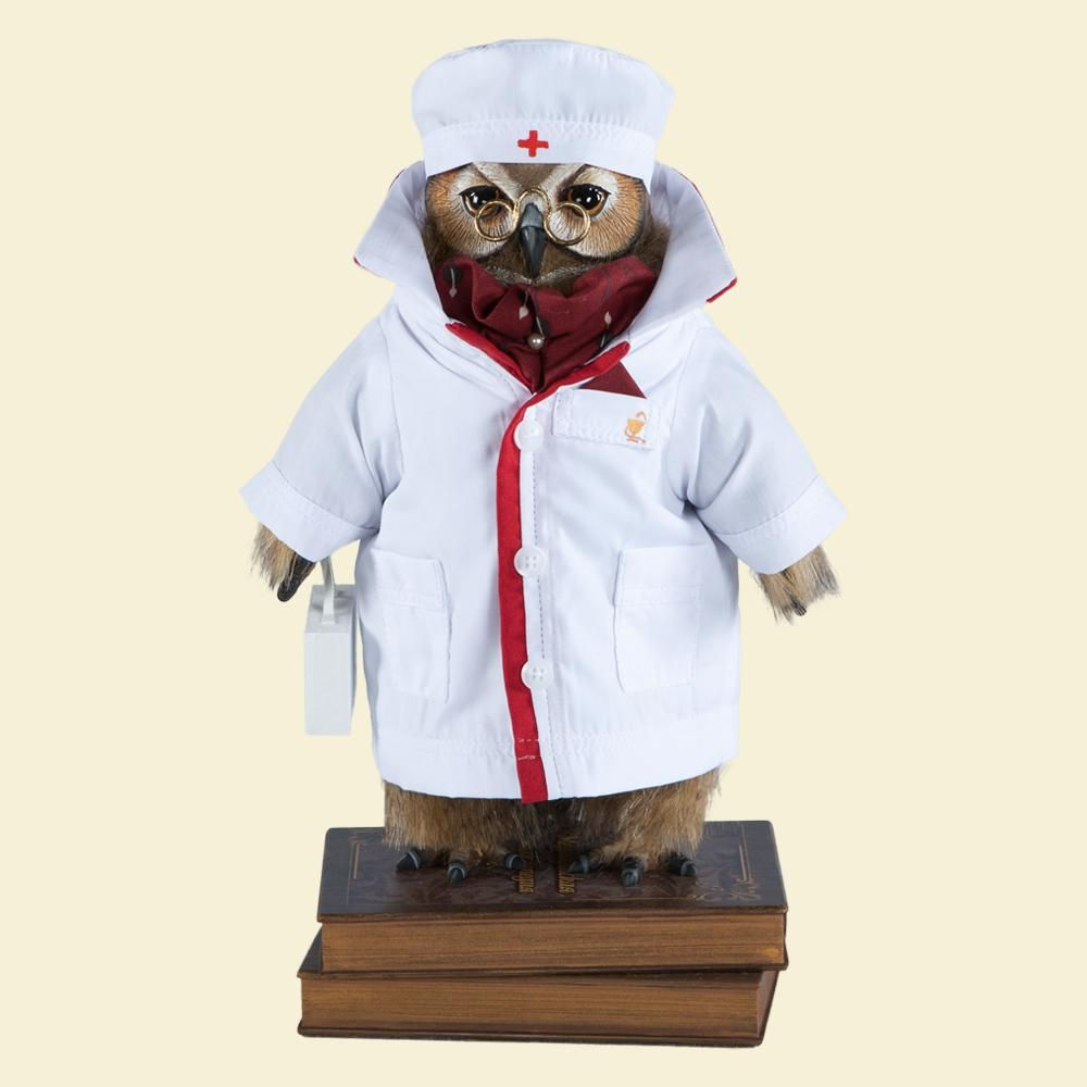 Филин Доктор Живаго - Кукла коллекционная