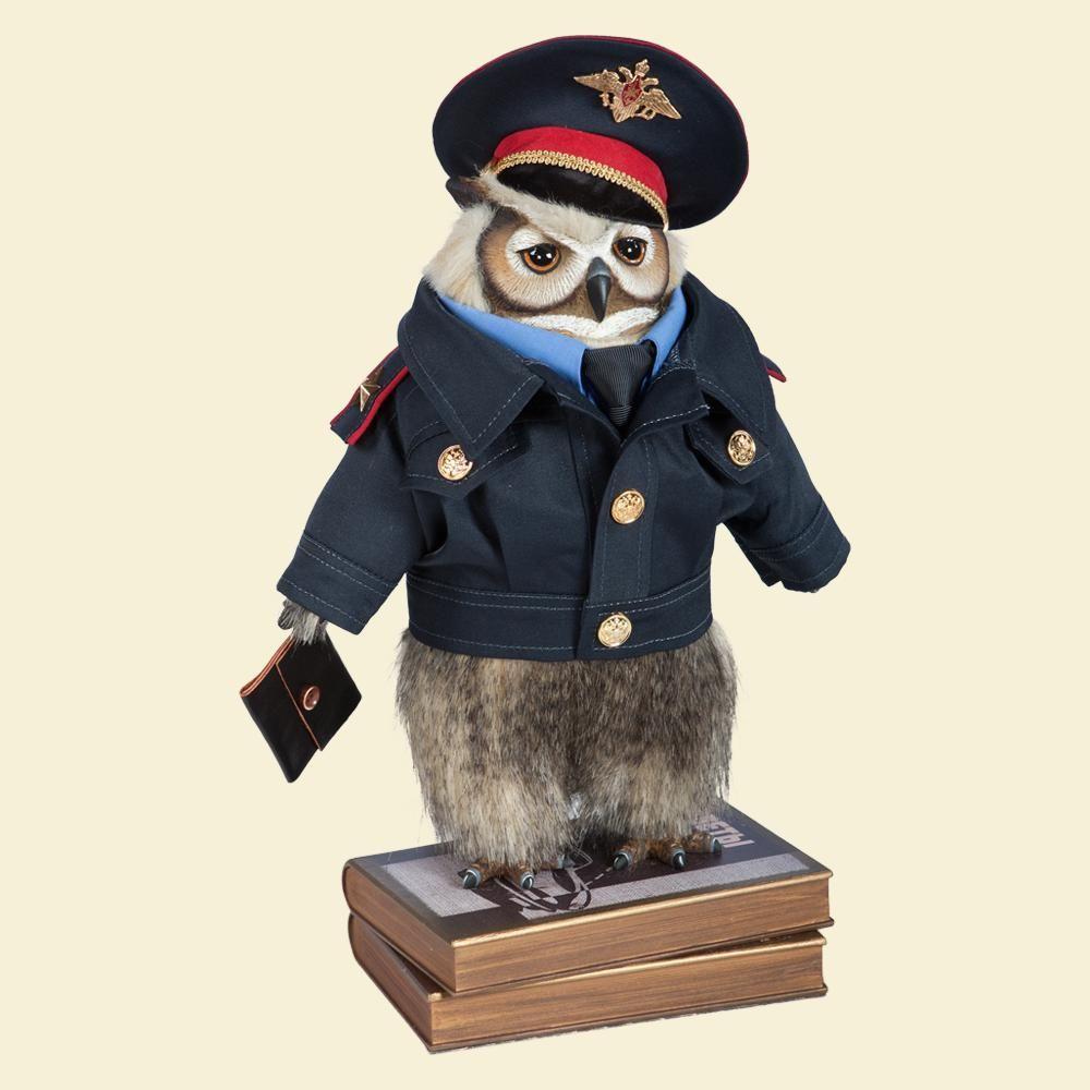 Филин Следователь Журов - Кукла коллекционная