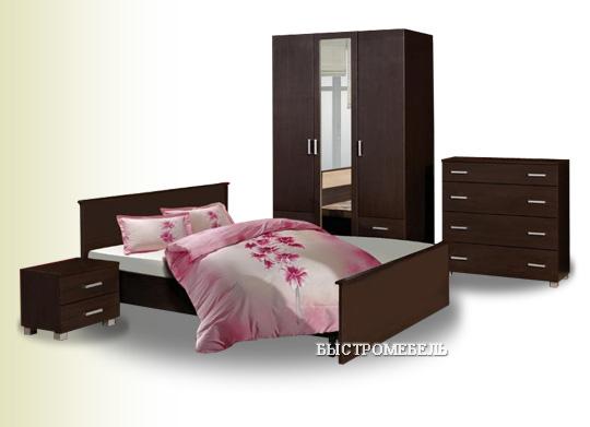 Спальня Милена-3 с матрасом (новая, с доставкой)