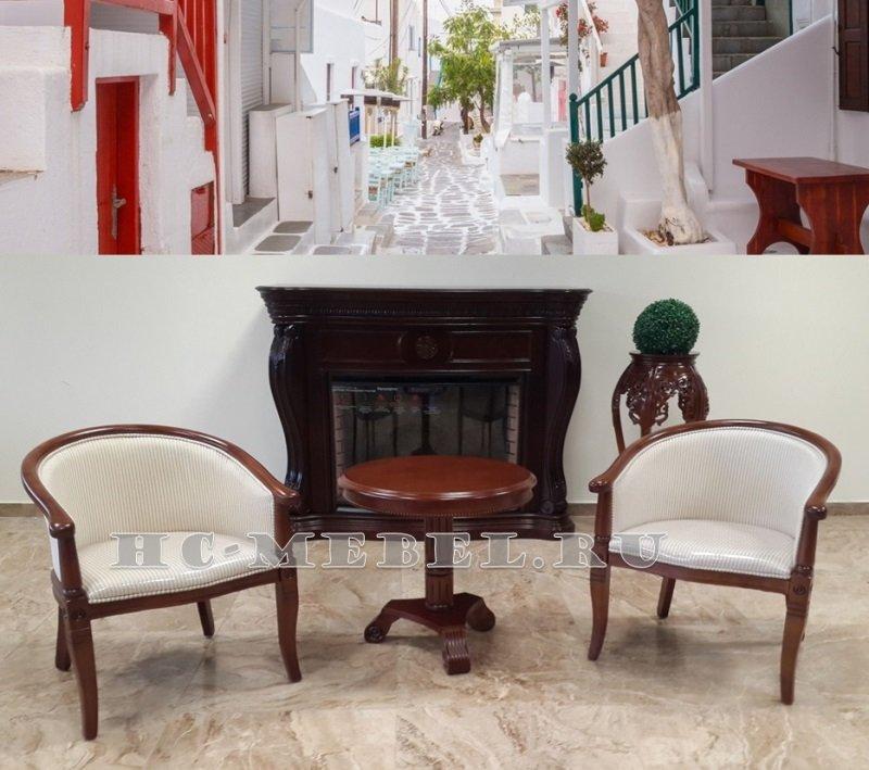 Чайная группа А-10 и В-5, 2 кресла и чайный столик