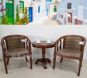 А-10 и В-5 чайная группа: 2 кресла и чайный столик