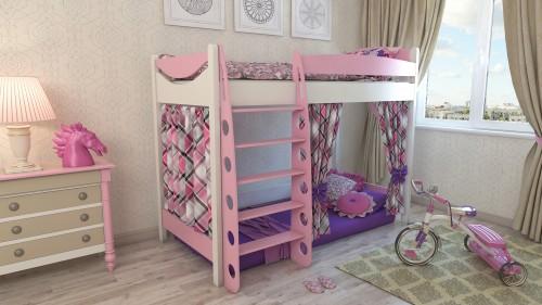 """Кровать чердак """"Эргономик-1"""" E190BMBUK детская для мальчиков и девочек детей от 2-3 лет"""