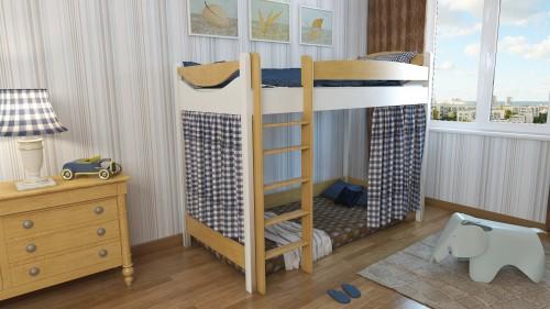 """Кровать чердак """"Эргономик-2"""" E290BMBUK200 детская для мальчиков и девочек детей от 2-3 лет"""