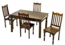 Стол обеденный SC-599 ДЖАЙПУР (средний)