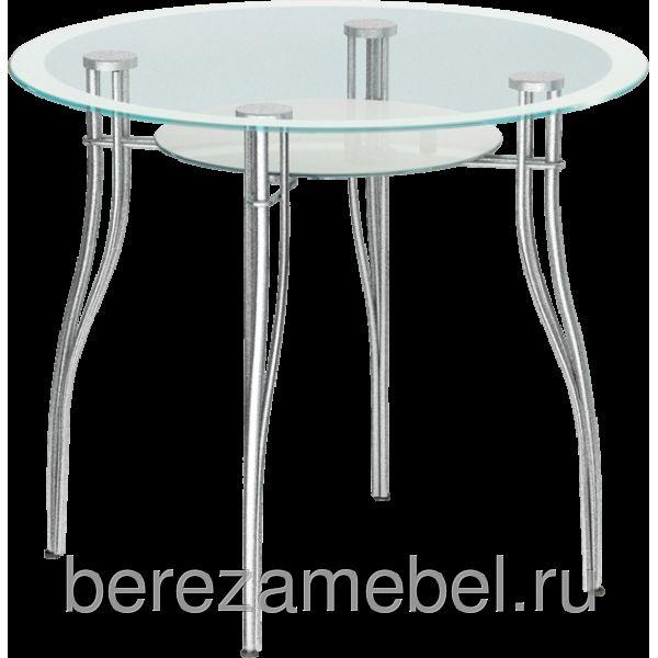 Стол стеклянный круглый МС-001