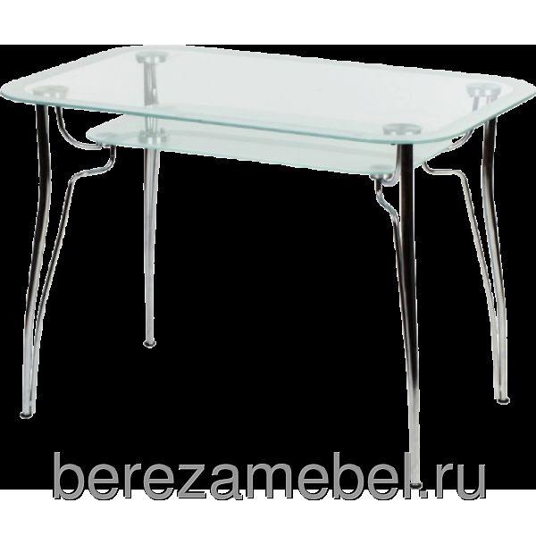 Стол стеклянный прямоугольный МС-002