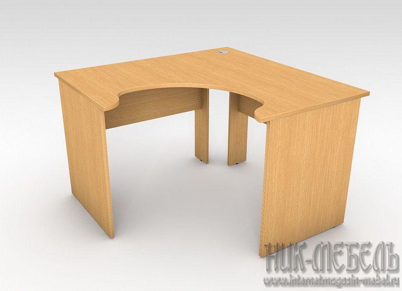 Стол рабочий 41-02 угловой 90 градусов