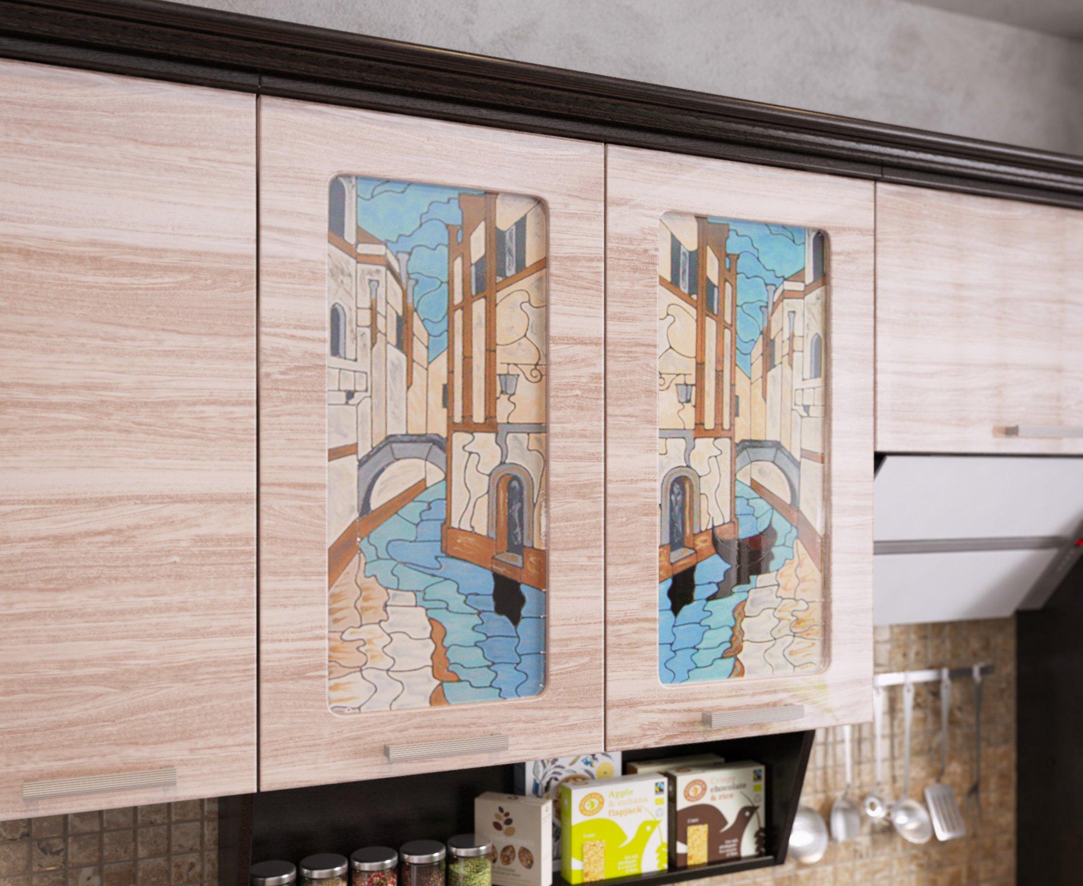 Кухня ВЕНЕЦИЯ-1, левая - правая