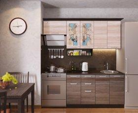 Кухня ВЕНЕЦИЯ-2, левая - правая