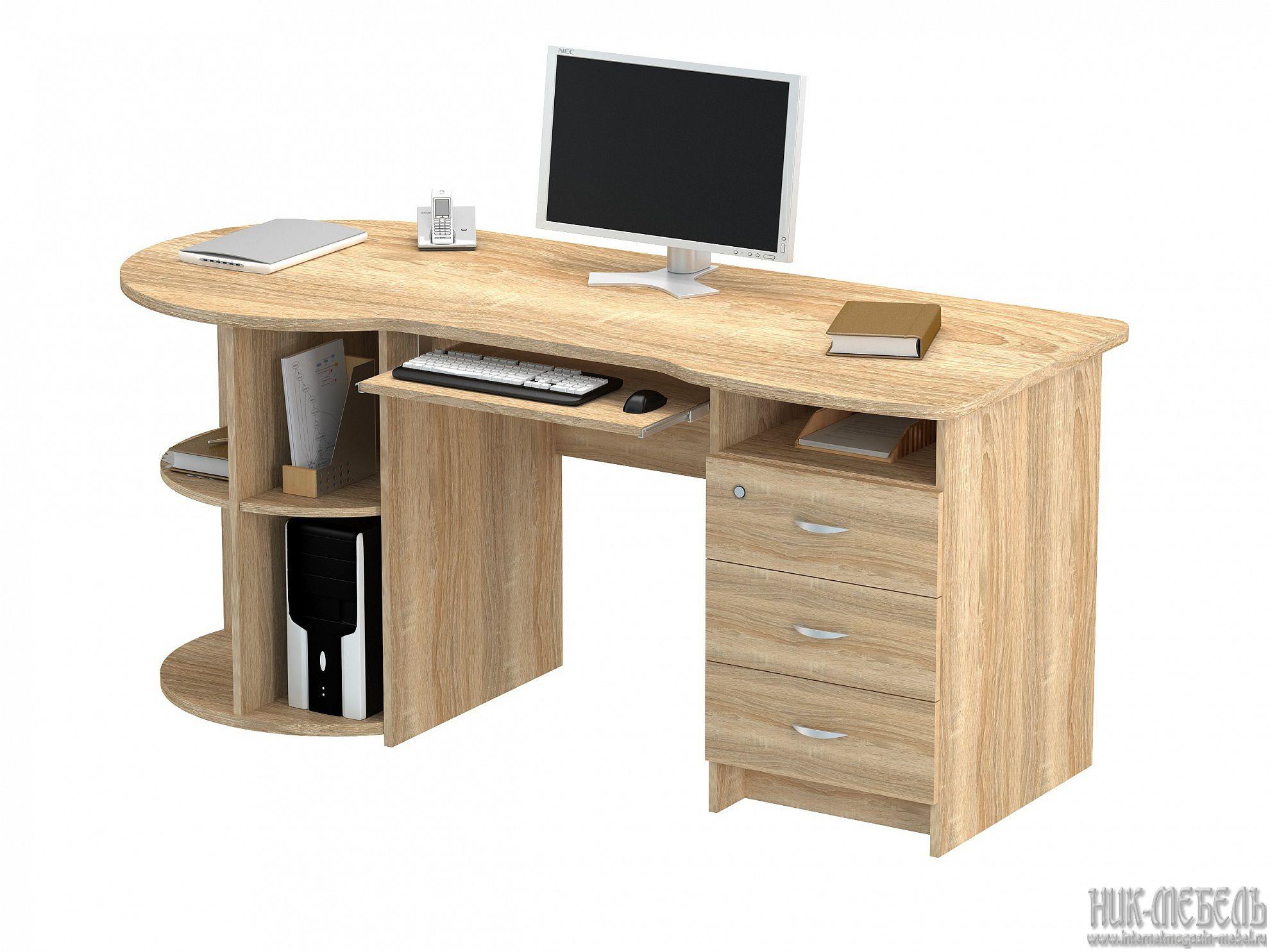 ВасКо-Письменный стол ПС 40-02 М1