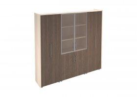 Шкаф комбинированный для руководителя Сенатор