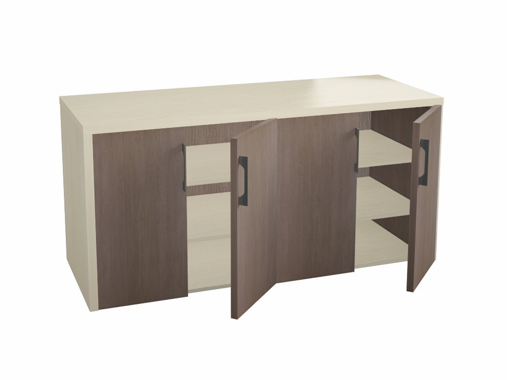 Шкаф низкий для кабинета руководителя Сенатор