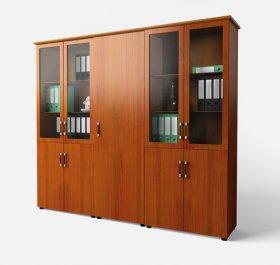 Шкаф в кабинет руководителя комбинированный Магистр