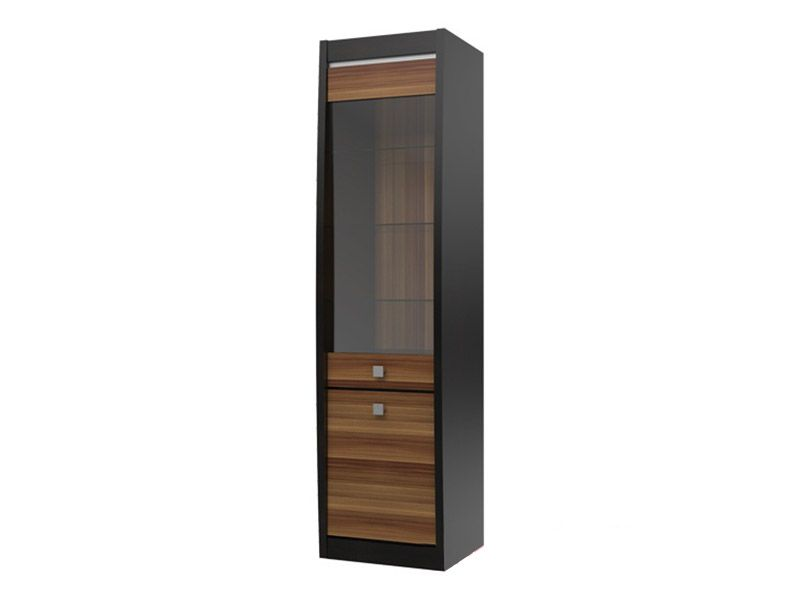 Шкаф-витрина Ксено (Корсика) СТЛ.078.04 (дуб феррара/слива)