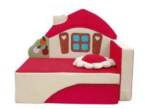 Детская мебель:Детские диваны:Диван для детской комнаты Домик