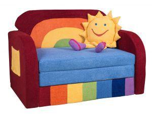 Детская мебель:Детские диваны:Детский диванчик Радуга