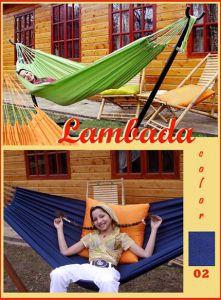 Товары для дачи и сада:Гамаки и каркасы:Гамак Lambada одноместный