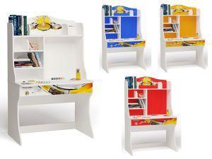 Детский письменный стол Champion с надстройкой
