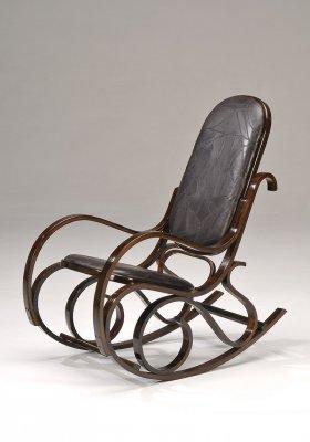 Кресло качалка RC-8001 (эко кожа)