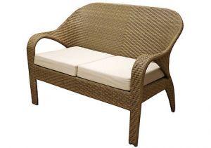 Товары для дачи и сада:Мебель из искусственного ротанга:Плетеный диван из искусственного ротанга Garda-1146