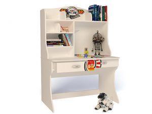 Детский письменный стол Sport с надстройкой