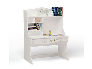 Детский письменный стол Bears с надстройкой