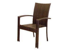 Товары для дачи и сада:Мебель из искусственного ротанга:Плетеное кресло из искусственного ротанга Garda-1011
