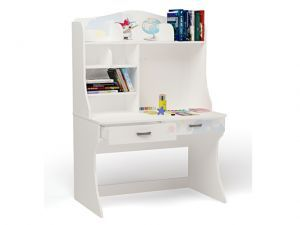 Детский письменный стол Molly с надстройкой