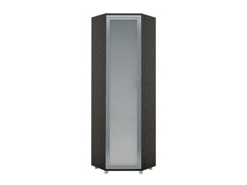 Шкаф угловой  с зеркалом WEST, модуль №8 (венге/дуб млечный)