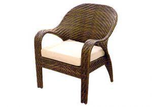 Товары для дачи и сада:Мебель из искусственного ротанга:Плетеное кресло из искусственного ротанга Garda-1146