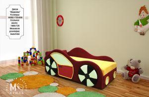 Детская мебель:Детские диваны:Детский диванчик Машинка