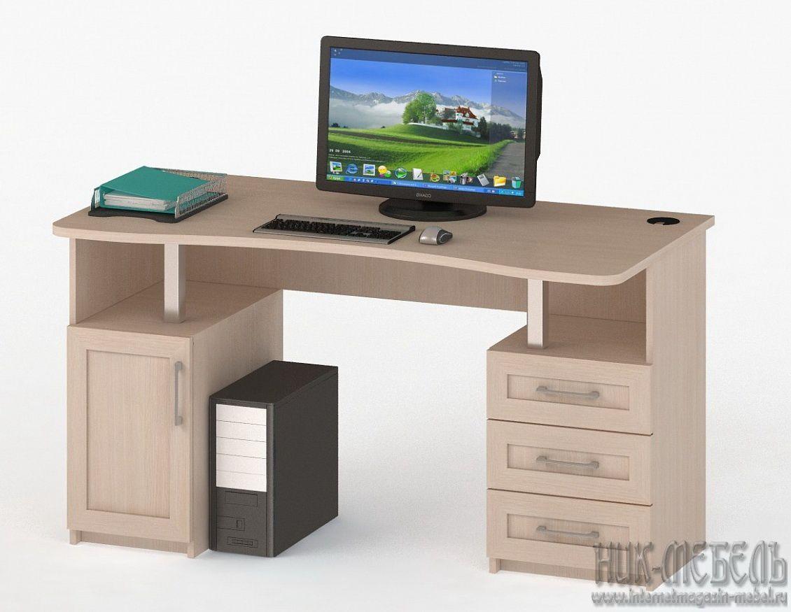 ВасКо-Компьютерный стол (Письменный) Соло-021