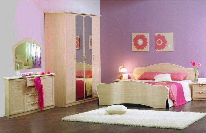 """Набор для спальни """"Тюльпан"""", (продается помодульно)"""