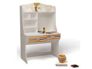 Детский письменный стол Симка с надстройкой